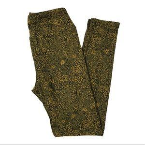 BRAND NEW LuLaRoe ANTIQUE GARDEN One Size Leggings